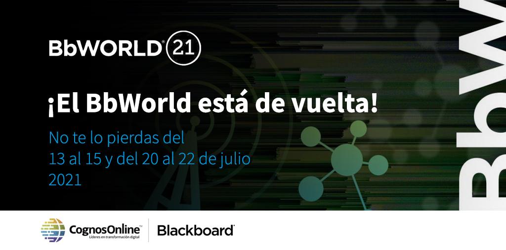 ¿Quieres conocer las últimas tendencias en educación? Participa del BbWorld 21